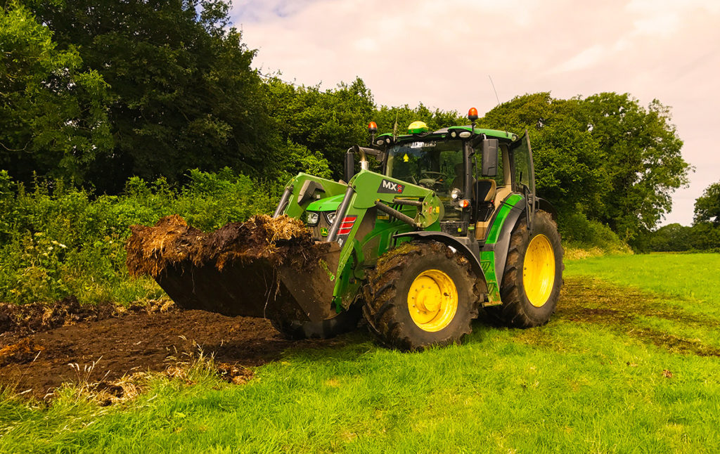 agricultural contracting in Devon